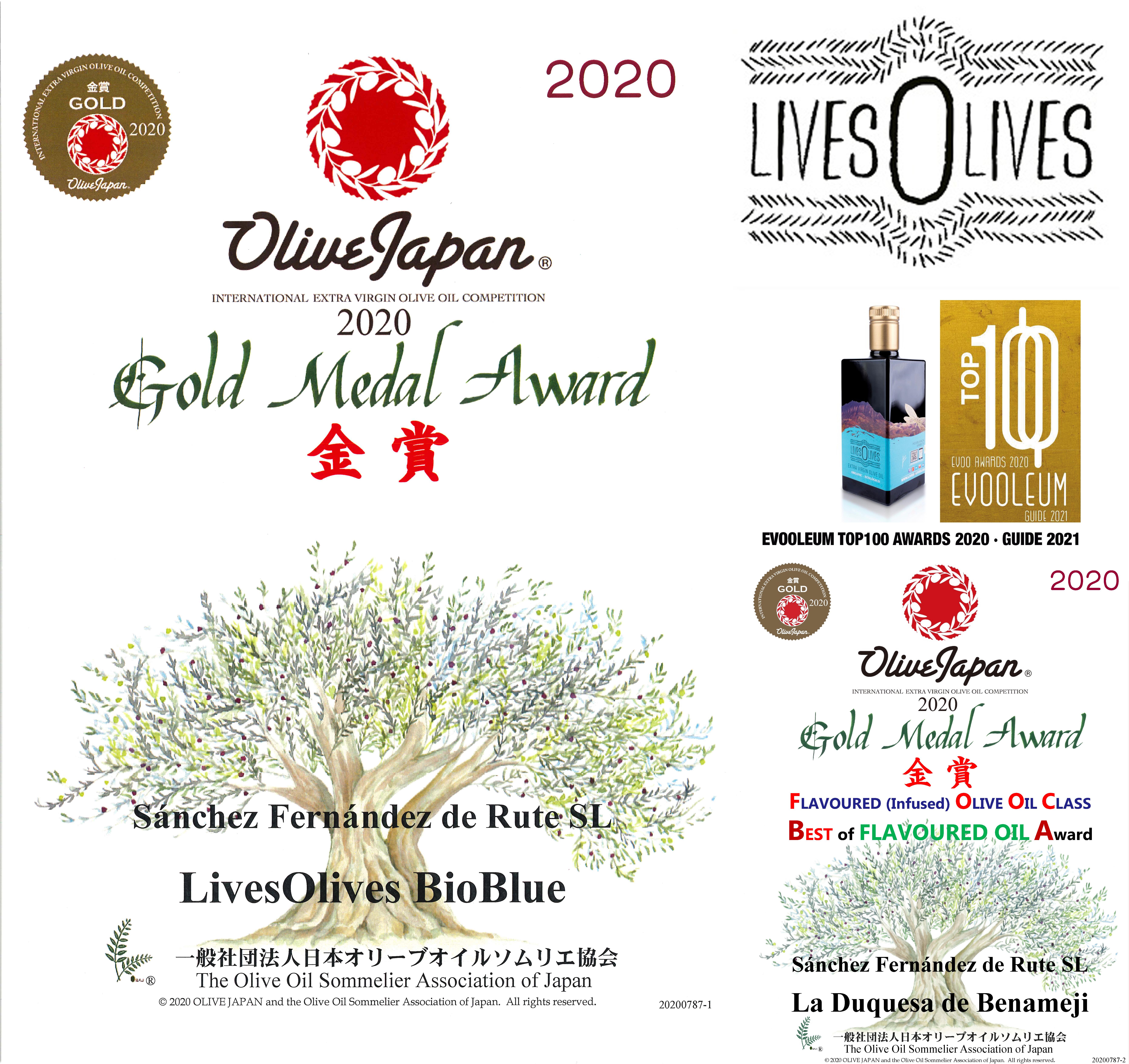 livesolives bio GOLD MEDAL 2020 m