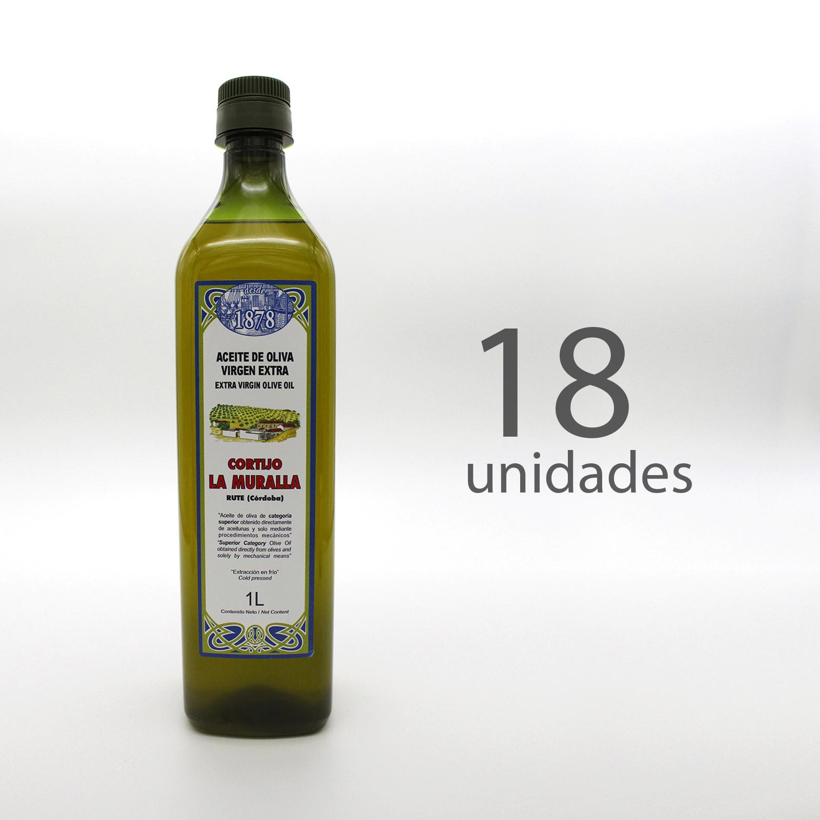 Aceite La Muralla – 1L x 17 unidades