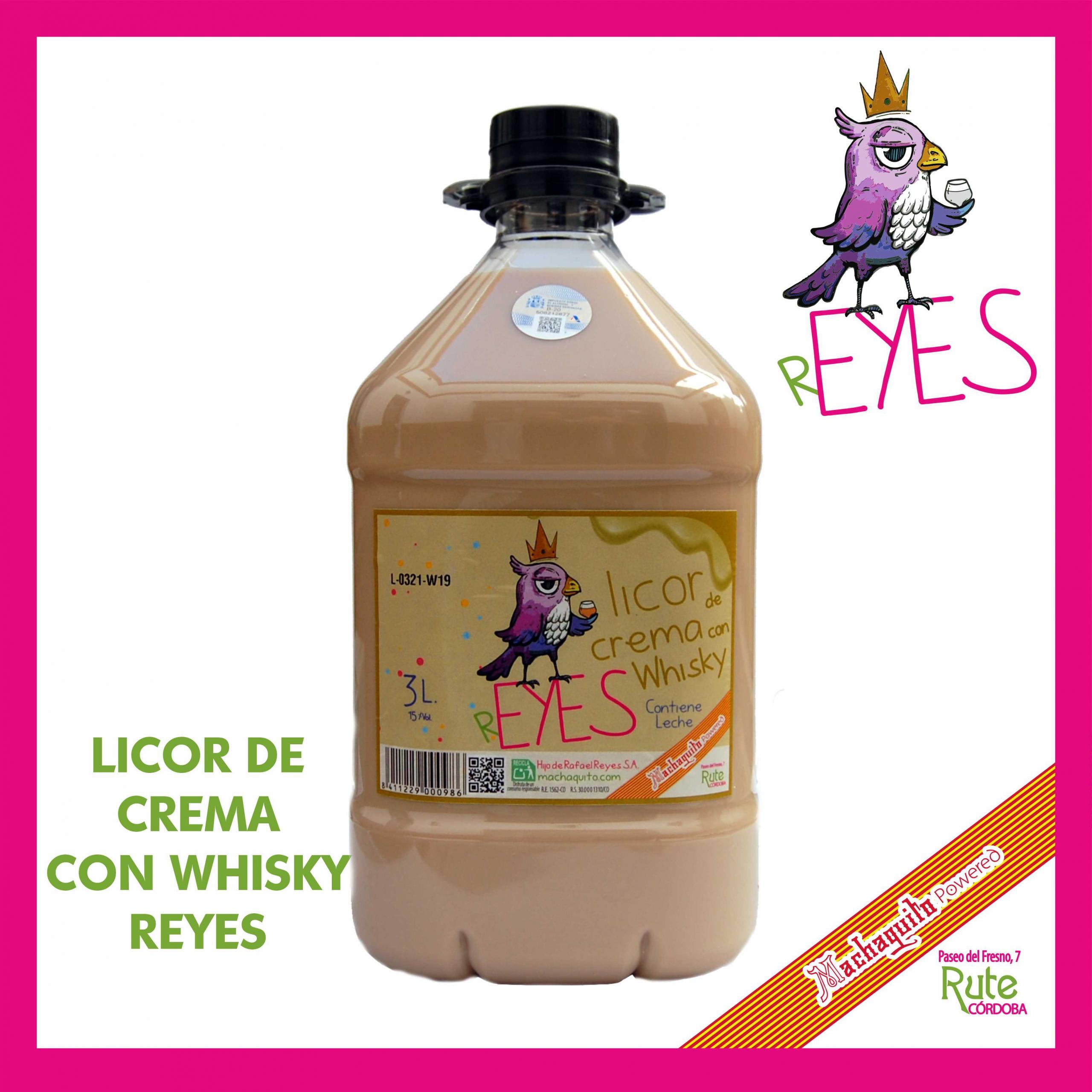 LICOR DE CREMA CON WHISKY 3